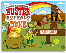 Buster and Duke Irish Gold