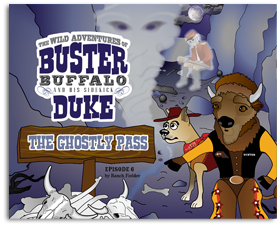 Buster and Duke The Ghostly Pass